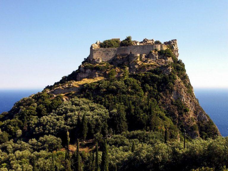Korfu sala ceļojums Angelokrasto