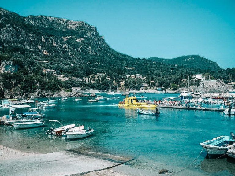 Korfu sala ceļojums