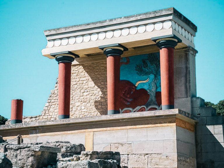 Knosas pils Krēta